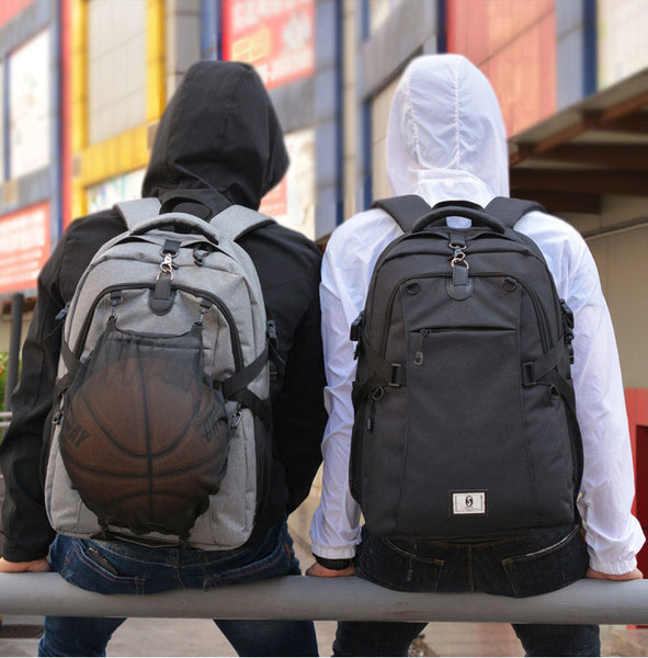 Simplify the Way You Carry All Your Gear with All-in-one Basketball & Laptop Backpack
