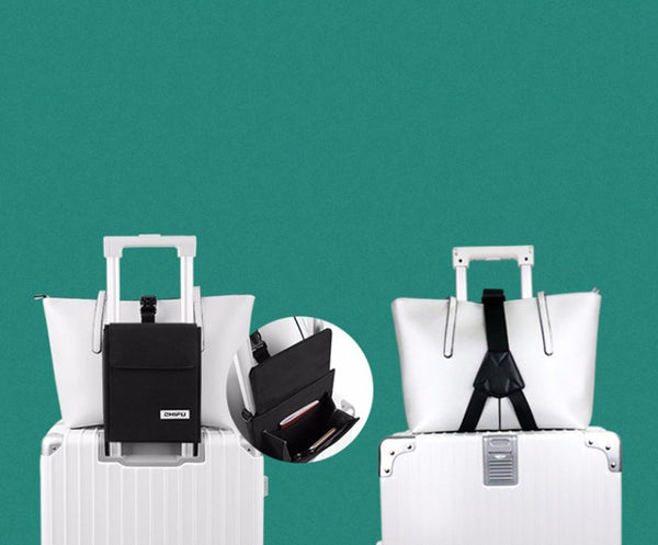 Multifunctional Luggage Strap Organizer, with Crossbody Design, for Reducing Baggage Burden & Easy Travel
