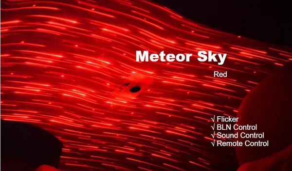 Car Roof Star Projector Lights -- Enjoy A Romantic Galaxy Sky