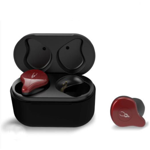 Bluetooth 5.0 TWS Earbuds With Charging Case, Stereo HiFi Sound & HD Mic, for Running, Driving & Gym