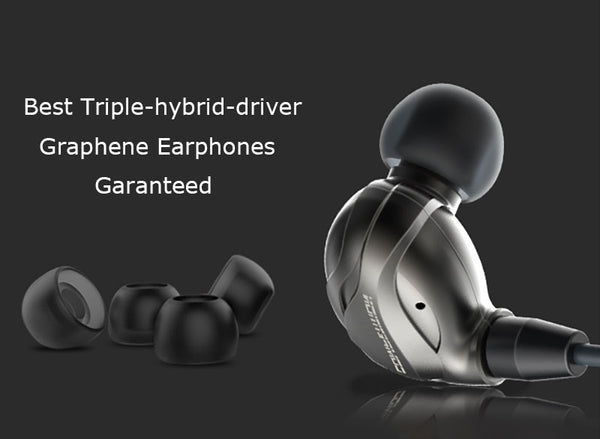 Best Triple-hybrid-driver Graphene Earphones