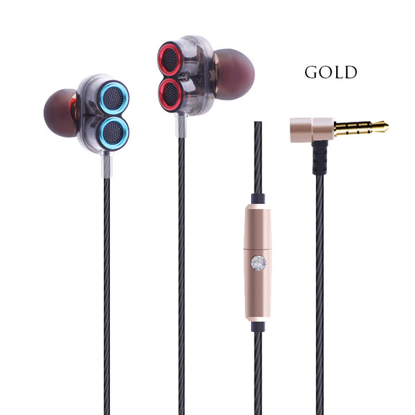 Look-as-stunning-as-they-sound Dynamic Dual Driver Earbuds That Really Shine