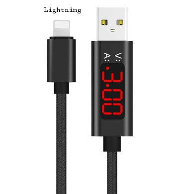 Unveil the Mystery of Charge & Sync  - USB Cable with LED Display