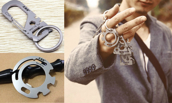 Portable Multi-function Gadgets for Your Keychain