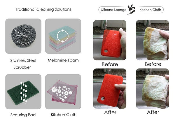 Cleanest Kitchen Sponge for Revolutionarily Easy Wash