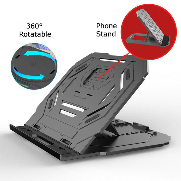 Laptop & Phone Stand to Give You Support at Any Level