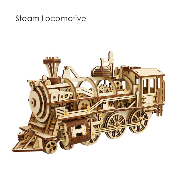 Find Steampunk Curiosity in 3D Wooden Puzzles