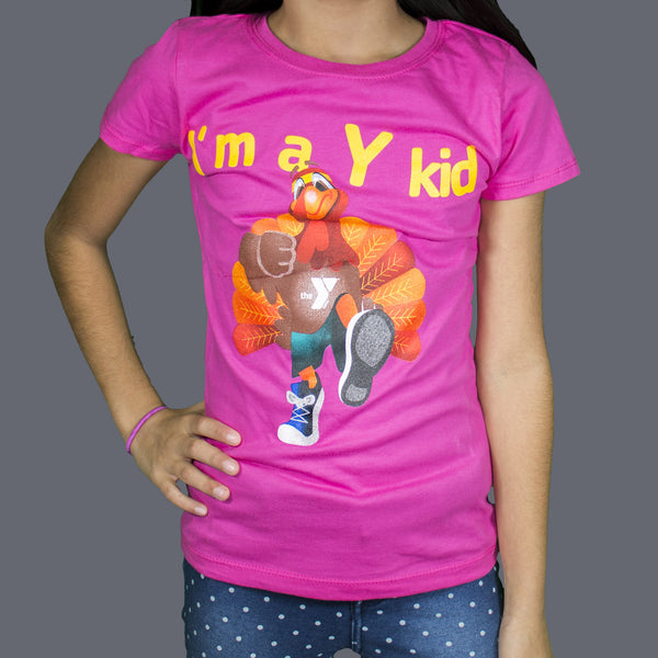 Girls' The Princess Tommy the Turkey Tee Shirt