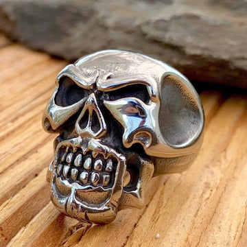 Bone Crusher Collection - Breaking Bad - Sizes 9-16 - R10 Ring Biker Jewelry Skull Jewelry Sanity Jewelry Stainless Steel jewelry
