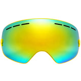 LOCLE Ski Goggles Double Lens Anti-fog