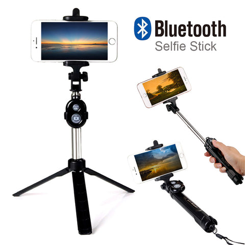 Bluetooth Selfie Stick+Tripod
