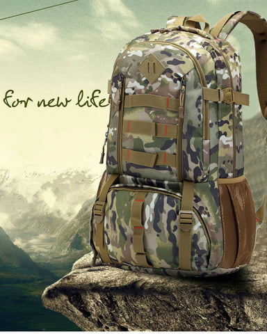 Bucbon 50LCamo Tactical Backpack