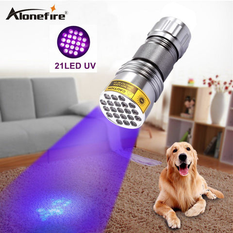 High quality 21 LED UV Torch