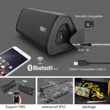 Waterproof  Portable B Wireless Loudspeaker