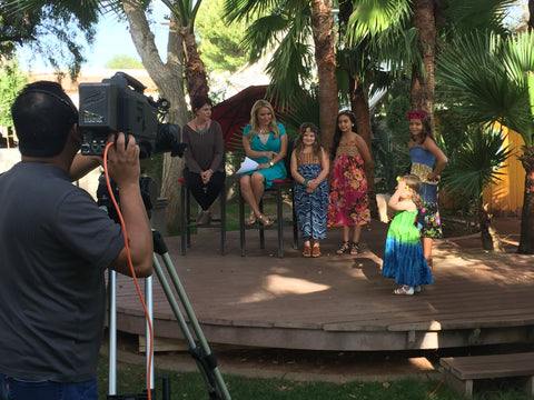 Bohemian Clothing for kids launches on Good Morning Arizona