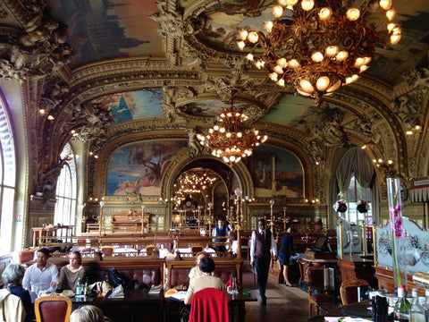 Le Train Bleu, Paris, Wanderlust