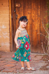 Blooming Beauty Dress in Green - Tomato Superstar