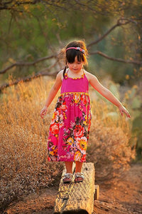 Pom Pom Princess Dress in Pink - Tomato Superstar