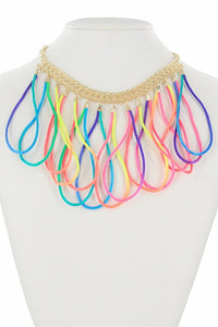 Loopty Loop Necklace - Tomato Superstar