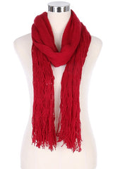 Cozy Convertible Scarves - Tomato Superstar