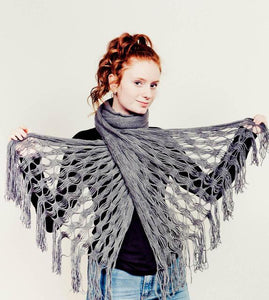Convertible Poncho Scarf - Tomato Superstar