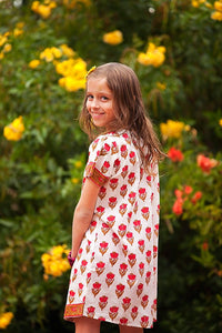 Free Spirit Tunic in Red - Tomato Superstar