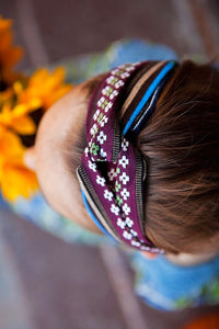 Bohemian Pattern Headwraps - Tomato Superstar