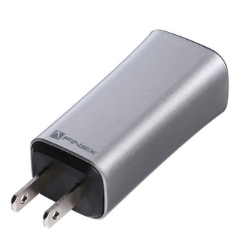 Dart Laptop Charger - Silver