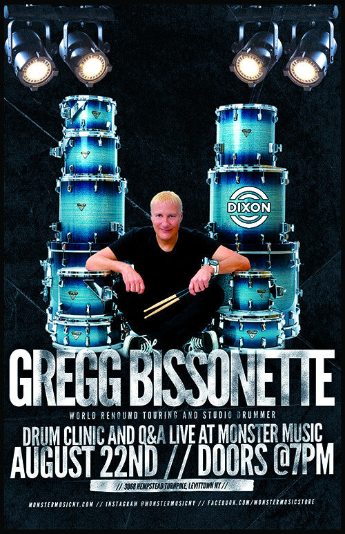 Gregg Bissonete Drum Clinic