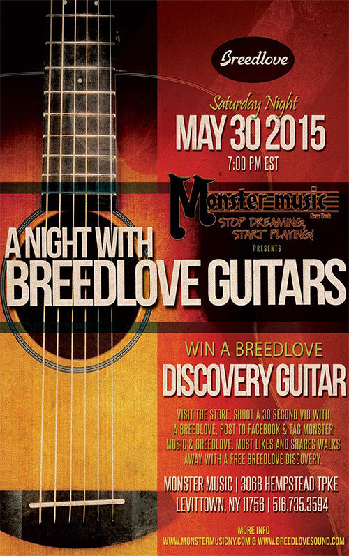 A Night With Breedlove Guitars