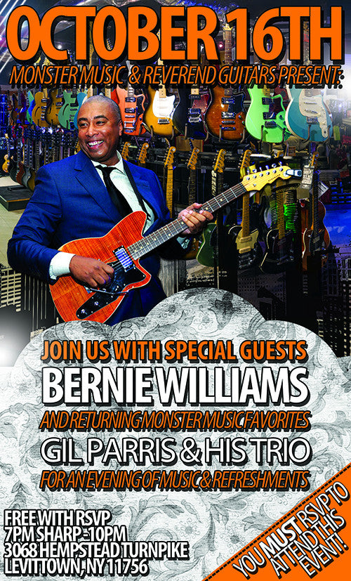 A Night With Bernie Williams & Gil Parris