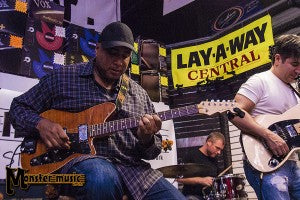 Bernie Williams, Gil Parris & Reverend Guitars Rock The House!