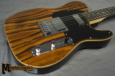 Michael Kelly Guitars - 1955 Custom Collection - Striped Ebony