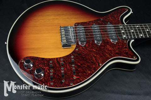 Burns Brian May Signature Sunburst Electric Guitar
