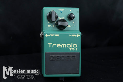 Boss TR-2 Tremolo with Keely Mod