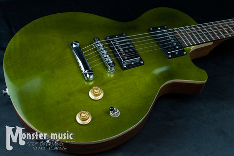 CMG Ashlee Transparent Green 2012 - Made in the USA - Early Serial #63