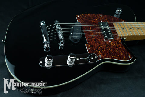 Reverend Buckshot - Midnight Black w/Roasted Maple Neck