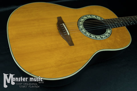 Ovation 1111-4 Acoustic Guitar - 1974 - Natural