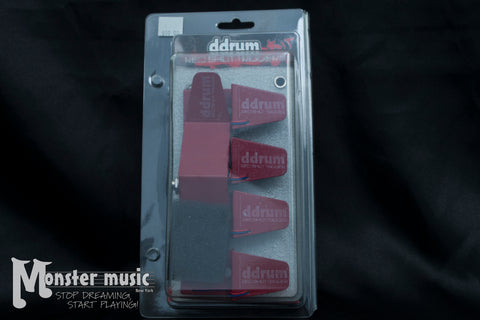 Ddrum Red Shot 5-Piece Drum Trigger Pack - New/Old Stock