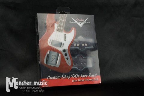Fender Custom Shop '60s J-Bass Pickup Set - Set of 2 Pickups - (New-Old Stock/Original Box)