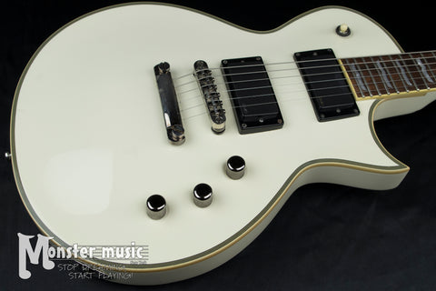 ESP LTD EC-500 Electric Guitar - White w/ EMG Pickups - Used