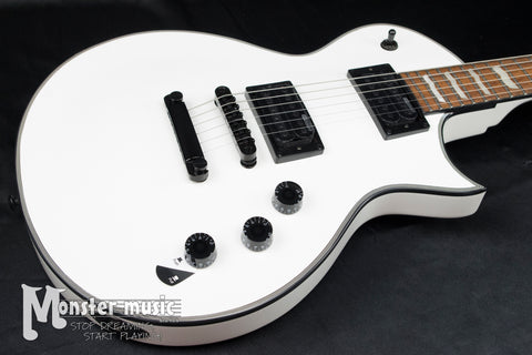 ESP LTD EC-256 Electric Guitar - Snow White w/Black Hardware