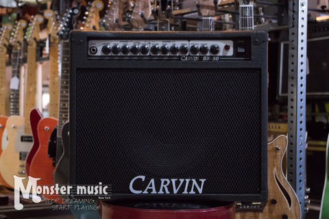 Carvin SX-50 50 Watt 1-12 Solidstate Combo Amp with Onboard DSP Effects - Used