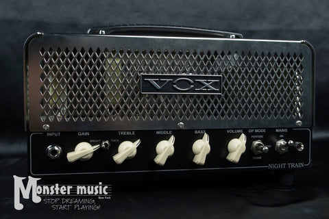 Vox Night Train 15w Tube Amp Head (New-Old Stock)