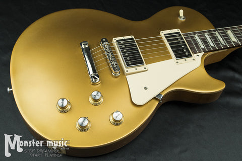 Gibson Les Paul Tribute Satin Gold Top w/ Soft Case