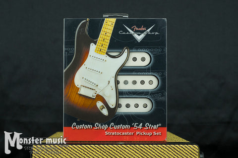Fender Custom Shop Custom '54 Strat Pickup Set - Set of 3 Pickups - (New-Old Stock/Original Box)
