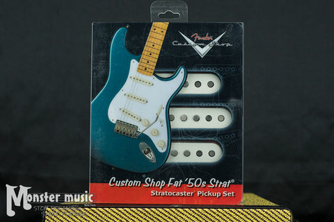 Fender Fat '50s Strat Pickup Set - Set of 3 Pickups - (New-Old Stock/Original Box)