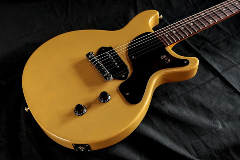 Gibson Billie Joe Armstrong Les Paul Junior Double Cut TV Yellow Used