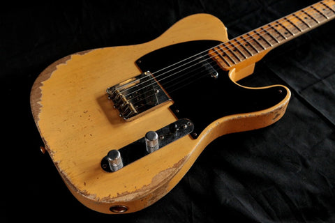 Fender 1953 Heavy Relic Telecaster Nocaster Blonde Used