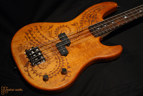 Luna Tattoo Short Scale Bass